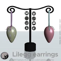 LilEgg earings @ Square1 event (Trinity Yazimoto) Tags: secondlife secondlifefashion slfashion jewellery originalmesh petitchatoriginalmesh