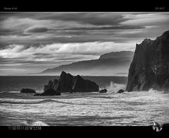 Rage On (tomraven) Tags: ocean coast west coastline rocks surf rage crash waves blackandwhite bw clouds sky water tom raven aravenimage q22017 pentax k50