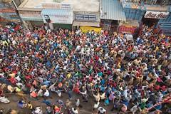 Pulling (Padmanabhan Rangarajan) Tags: kapaleeswarantemple chariot festival crowds pulling ther