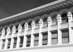 Historic Berkeley Building--Barker Block. (melystu) Tags: windows hww architecture berkeley 20thcentury arcade arched secondstory shattuck repeat regular commercial design barkerblock