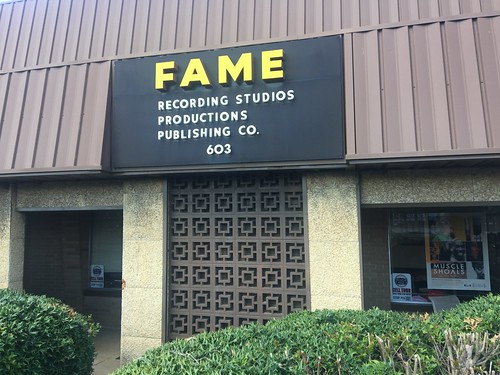 FAME sign and front entrance