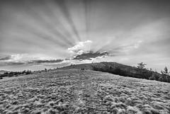 Ljukten (Djordje Petrovic) Tags: landscape ljukten goč serbia srbija mountain monochrom blackandwhite light sun sunset sky clouds tokina1224mm tokina tokinalens
