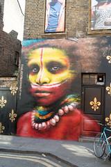 Dale Grimshaw Street Art at Well Hung Gallery (NekoJoe) Tags: dalegrimshaw wallerygallery bricklane england gb gbr geo:lat=5152027985 geo:lon=007203877 geotagged graffiti hanburystreet london spitalfields streetart uk unitedkingdom wellhunggallery