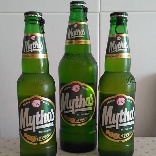 Mythos - Cerveza griega #beer #cerveza #cervesa #Greece #grecia #grècia #Mythos