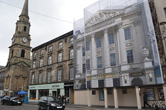 Inverness fixes old buildings with pictures. (davefree99) Tags: inverness clock tower church street high caledonian