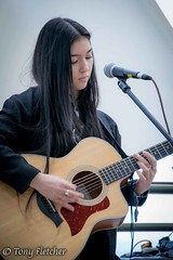 'MILA LEE' - 'MUSICPORT WHITBY (tonyfletcher) Tags: musicport musicportwhitby openmic whitbypavilion whitby livemusic acousticmusic acoustic guitar milalee