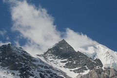 Weisshorn ( VS - 4`505 m - Erstbesteigung 1861 - Viertausender - Berg montagne montagna mountain ) in den Walliser Alpen - Alps im Kanton Wallis - Valais der Schweiz (chrchr_75) Tags: hurni christoph chrchr chrchr75 chrigu chriguhurni april 2017 hurni170410 weisshorn alpen alps kantonwallis kantonvalais wallis valais berg montagne montagna mountain schweiz suisse switzerland svizzera suissa swiss viertausender