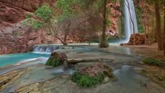 20170411-Havasu-1035-Edit (BX's Photos) Tags: havasupai havasu supai falls mooney grand canyon water waterfalls havasucreek havasucanyon arizona turquoise grandcanyon coloradoriver