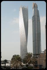 Twisted (franz75) Tags: nikon d80 emiratiarabiuniti asia oriente mediooriente middleeast marina dubai uae twisted grattacieli skycreeper