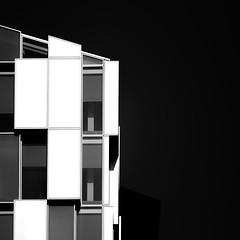 52 (Panda1339) Tags: minimal lines zeiss aposonnart2135 paddingtonbasin london ldn highcontrast zeissaposonnart2135 abstract architecture nikondf block blackandwhite uk monochrome blacksky