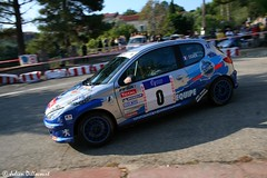 Sebastien Ogier / Julien Ingrassia (Julien Dillocourt) Tags: rally rallye france corse french corsica 2007 tour de wrc peugeot 206 s16 sebastien ogier julien ingrassia équipe ffsa
