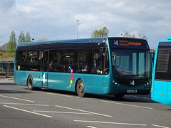 trent barton 331 Derby (Guy Arab UF) Tags: trent barton 331 yj12gwm optare tempo sr derby bus station derbyshire wellglade buses wellgladegroup