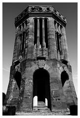 Tour mémorial d'Elsasshausen - Woerth (DavidB1977) Tags: nikon d610 ais 35mm france alsace basrhin bw nb monochrome woerth