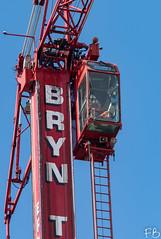 Crane Camera (frisiabonn) Tags: outdoor merseyside england uk britain liverpool birkenhead crane operator worker bridge demolition dismantle