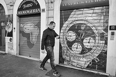 Matter of Time (questione di tempo) (Anton Pisani (Malta)) Tags: roma streetphotography street summicron leicam leica time watch clock orologio times award streetpassionaward rome