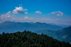 Knuckles Range (ajanth.v) Tags: pine mountain mountainside meemure plants sky skyline outdoor landscape srilanka kandy cloud clouds knuckles range nikon d7100 18140mm