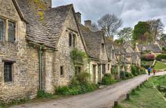 Arlington Row, Bibury, Gloucestershire (Baz Richardson (trying to catch up again!)) Tags: gloucestershire thecotswolds nationaltrust medievalbuildings ancienthouses cottages bibury gradeilistedbuildings