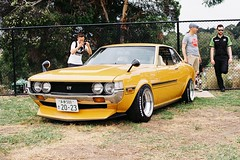 Cool Kid (benriley80) Tags: toyota celica jdm jnc classic car nostalgic japanese ride sports muscle classicjapan film nikonf3 50mm kodak gold 200 melbourne comopark victoria australia carshow