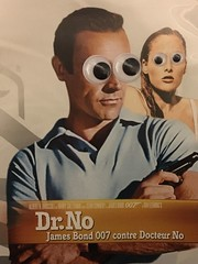 dr no googly eyes (helloflower!) Tags: fleming andress connery toronto silly googlyeyes drno