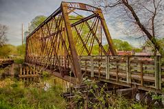 Sunlite Bridge (kendoman26) Tags: bridge railroadbridge morristerminalrailroadbridge hdr nikhdrefexpro2 niksoftware sonyalpha sonya58 sonyslta58 sonyphotographing travelillinois enjoyillinois imcanal iandmcanal imcanaliandmcanal morrisillinois