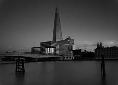 Shard (twenty8solo) Tags: shard nikon london black white darren james photography thames long exposure