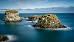 Arnarstapi (hrobertsson) Tags: lee seascape snæfellsnes sonyalpha bigstopper landscape ilce7r sony1635f4 iceland sky cloud