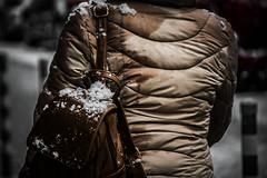 Bronze (Melissa Maples) Tags: софия sofia българия bulgaria europe nikon d3300 ニコン 尼康 nikkor afs 18200mm f3556g 18200mmf3556g vr winter snow coat handbag bag bulgarian woman brown
