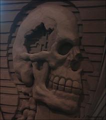 Mind Games (John Neziol) Tags: kjphotography cnetoronto torontoontario canada sandsculpture sand sculpture art skull mindgames