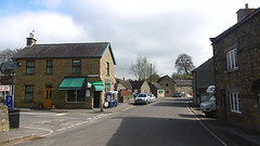 Junction of Church St &  Hawkhill Rd, Eyam   -   April 2017 (dave_attrill) Tags: country store grocers church street st hawkhill road rd 260 deaths eyam derbyshire peak district hope valley 11th century village bubonic plague breakout 1665 rev william mompessom anglo saxon roman lead mining architecture outdoor historic mid 17th cottages cottage april 2017 national park white mines domesday book