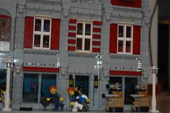 Daleks (sander_koenen92) Tags: lego modular house doctor dalek weeping angel jewelry food store