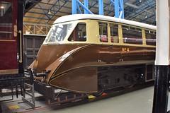 GWR AEC diesel railcar no.4 (colin9007) Tags: york nrm national railway museum gwr great western diesel railcar 4 streamlined