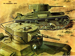T-26 (1931-1941) (nicifor28) Tags: ussr russia wwii scanned танк т26 t26 tank light infantry