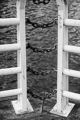 Hold it in (TwinCitiesSeen) Tags: mississippiriver saintpaul minnesota twincities twincitiesseen canon6d tamron2875mm blackandwhite