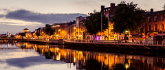 Dublin (drasphotography) Tags: dublin liffey ireland irland reflection reflektion flus water river riverview city cityscape drasphotography nikon d7k d7000 moody romantic travel travelphotography reise reisefotografie globetrekker