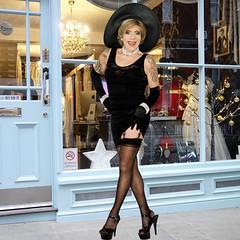 home14718 (Ann Drogyny) Tags: shoes legs heels crossdress crossdresser crossdressing cd tv tg ts transvestite transgender transsexual tranny tgirl glamour pinup mature cute sexy stockings nylons suspenders garters