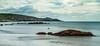 Cudden View (adiej62) Tags: sea sand beach ricks coast water ocean waterfront seaside summer holidays perranuthnoe cornwall longexposure blur coastline nationaltrust clouds sky blue
