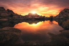 Barker Dam Sunset - Joshua Tree NP (wesome) Tags: adamattoun barkerdam joshuatree sunset