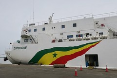 """Welcome to Senegal   About to take the boat from the Ziguinchor port to Dakar.  April 2017 #itravelanddance • <a style=""""font-size:0.8em;"""" href=""""http://www.flickr.com/photos/147943715@N05/34315962416/"""" target=""""_blank"""">View on Flickr</a>"""