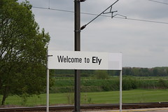 Welcome to Ely (gooey_lewy) Tags: station transport engine railway trains ely welcome