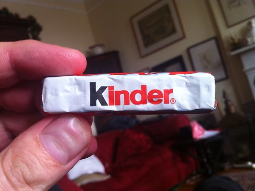 Snack - May 19 - Kinder chocolate