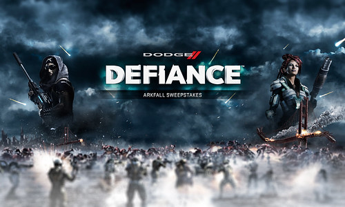 The Dodge brand has partnered with Syfy and Trion Worlds