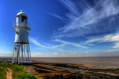 BLACK NORE LIGHTHOUSE, BLACK NORE POINT, PORTISHEAD, SOMERSET, ENGLAND. (ZACERIN) Tags: black fall portishead tide great ii nore house listed highest the in black bridge building point a world western hdr ss of harbour bristol severn second estuary lighthouse pictures lighthouse trinity england grade lighthouses lighthouses zacerin portishead somerset 1894 1838 portishead