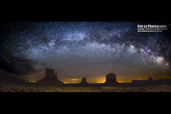 monument valley (Eric 5D Mark III) Tags: longexposure sky usa rock night canon landscape photography star utah unitedstates sigma wideangle fisheye monumentvalley stargazing milkyway monumentvalleynavajotribalpark ericlo sigma15mmf28exdgfisheye eos5dmarkiii 5d3 15exdg