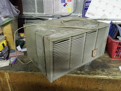 Fedders 4000 BTU 110 Volt Right Side Before Restoration (The Air Conditioner Guy) Tags: old vintage air airconditioner older ac conditioner unit fedders flickrandroidapp:filter=none