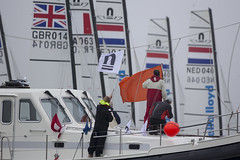 Delta Lloyd Regatta 2013  Sander van der Borch (BritishSailingTeam) Tags: netherlands europe thenetherlands olympic medemblik nld deltalloyd olympicclasses deltalloydregatta eurosafchampionssailingcup