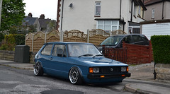Chillin! (smith-jack) Tags: rabbit vw golf volkswagen low stance mk1 vabric fifteen52