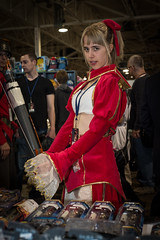 DSC_2725 (Quantum Stalker) Tags: costumes toronto ontario canada anime cute pretty cosplay north center congress fate saber accessories heroes swords extra weapons villans 2013
