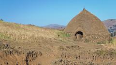 Highland House, near Magdala, Ethiopia, 2011 (larkvi) Tags: africa house hut ethiopia wollo tukul