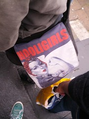 Hooligirls! (MichaelGT) Tags: party berlin history germany manchester graffiti holocaust football memorial gate soccer united thirdreich nazi ss reichstag berlinwall friendly murder ddr jewish jews fc genocide potsdam brandenburg gdr checkpointcharlie antifascist gestapo ironcurtain hilter fcum easternblock babelsburg