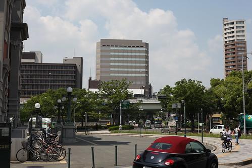 公会堂前広場